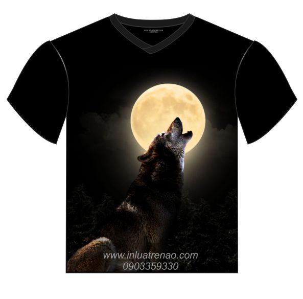 THIET KE IN AO wolf mon